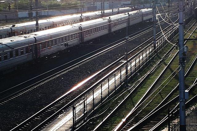 В Тюмени загорелся поезд, который должен был следовать на север