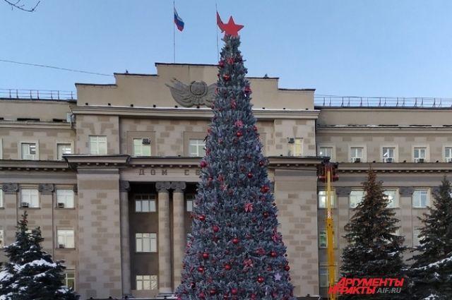 В Оренбурге 27 декабря откроется главная городская елка.