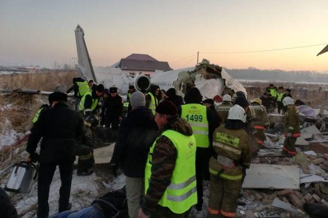 В Казахстане разбился самолет с украинцами на борту