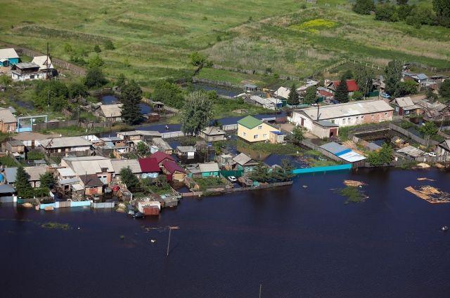 В Канске оказались подтоплены 238 дачных участков и более ста придомовых территорий.
