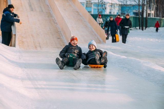 Чего опасаться при катании на коньках и с горок.