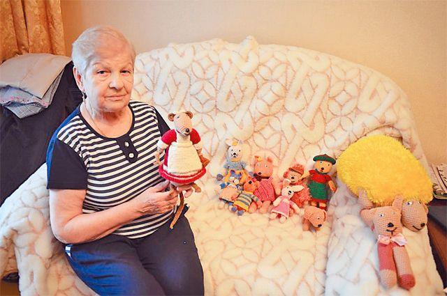 Надежда Дорожко хранит только одну свою игрушку– крысёнка.