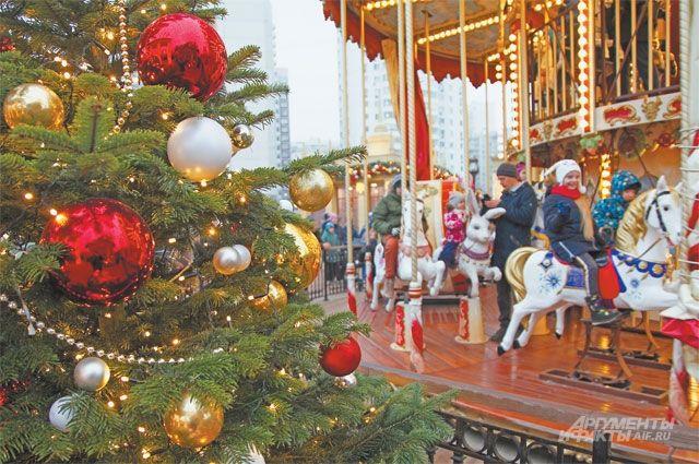 Площадка «Путешествие в Рождество» уже открылась на Митинской улице.