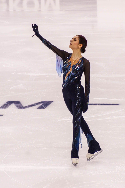 Евгения Медведева в короткой программе показала пятый результат.