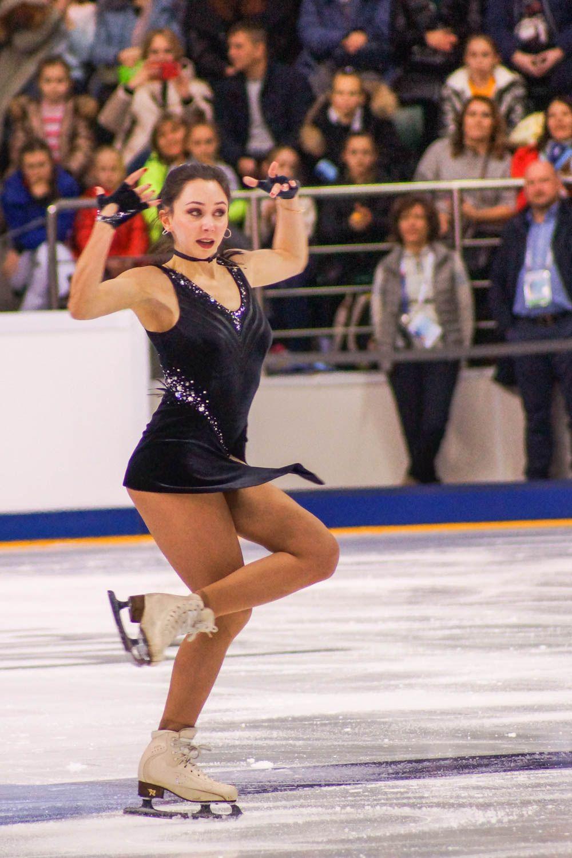 Елизавета Туктамышева в промежуточном этапе занимает четвертую строчку.