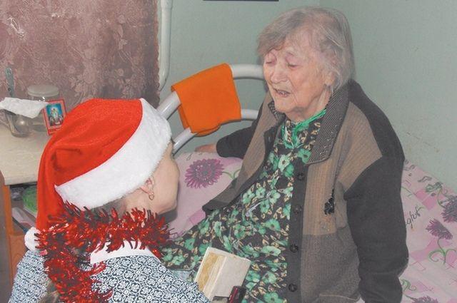 Внимание пожилым людям требуется не только в праздничные, но и в обычные дни.