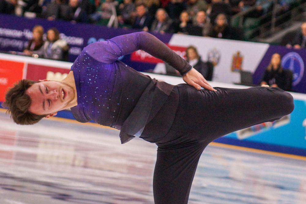 Дмитрий Алиев стал победителем в одиночном катании.