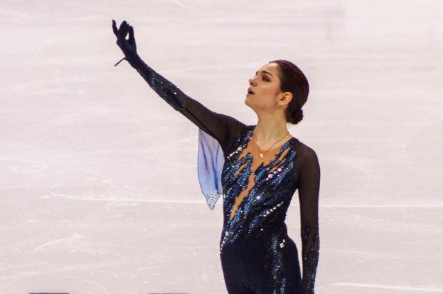 Двукратная серебряная медалистка Олимпиады-2018 после короткой программы занимала пятое место