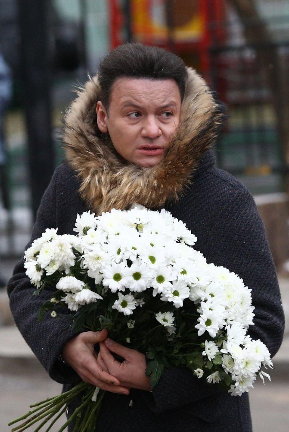 Актер Александр Олешко.