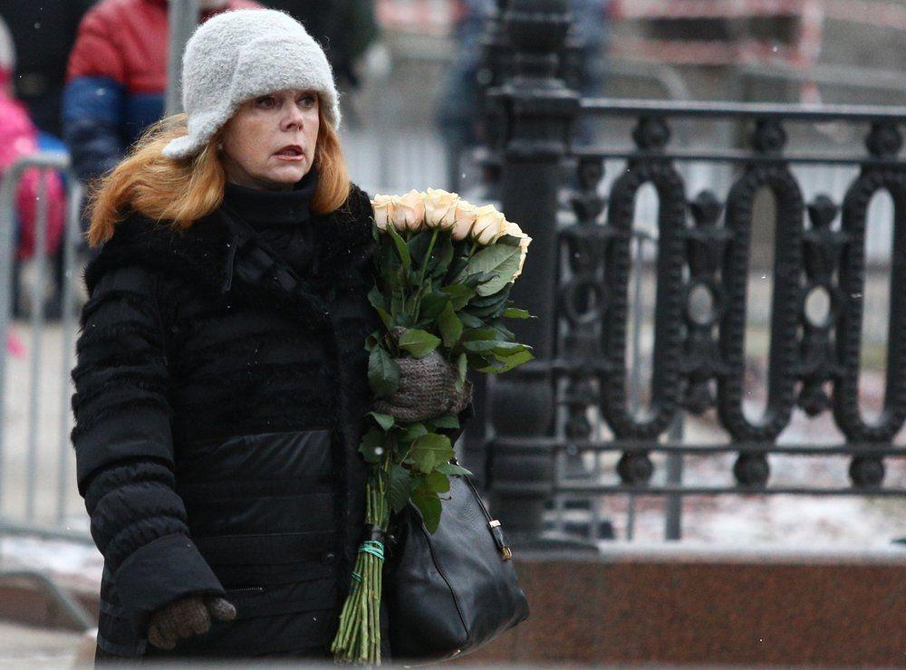 Артистка эстрады Клара Новикова.