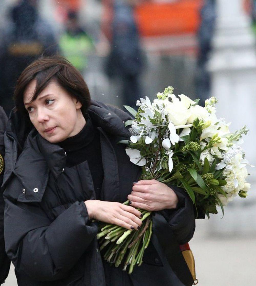 Актриса Чулпан Хаматова.
