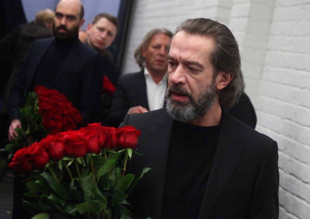 Художественный руководитель Театра Олега Табакова, актер Владимир Машков.