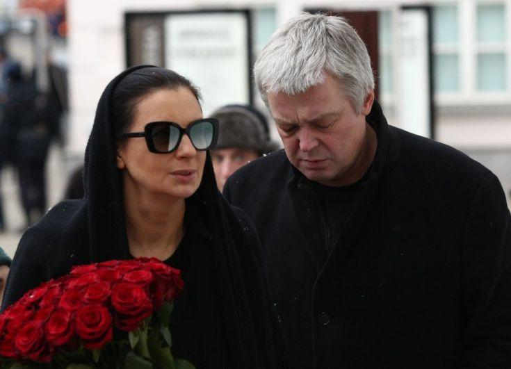 Режиссер, продюсер Александр Стриженов и его супруга актриса и телеведущая Екатерина Стриженова.