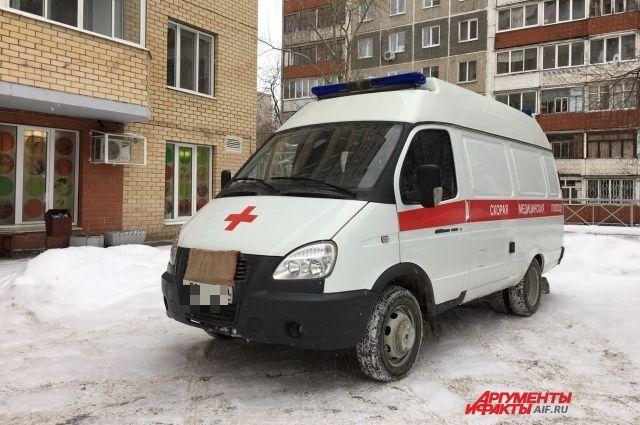 В Оренбуржье годовая девочка получила химический ожог.