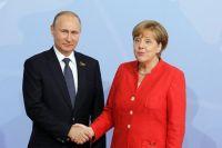 Транзит газа через Украину: Меркель и Путин отметили прогресс в переговорах