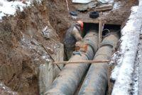 Для завершения ремонта - монтажа обводной трубы - требовались более высокие температуры наружного воздуха.