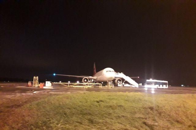 Из краевой столицы не могут улететь четыре самолёта.