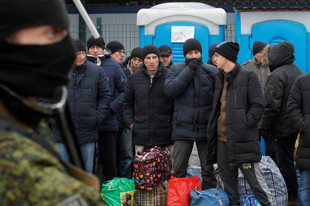 Военнопленные Украины.