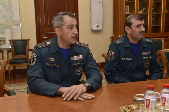 Врио главы тюменского ГУ МЧС назначен полковник Артур Хачатрян
