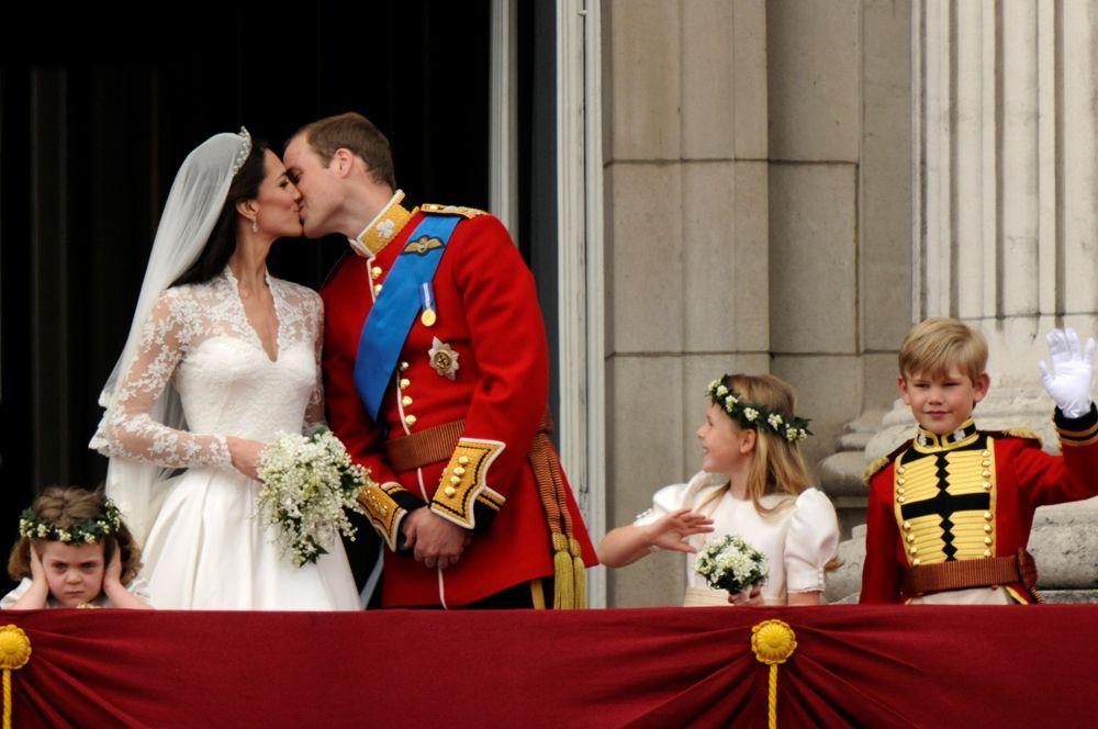 Свадьба британского принца Уильяма Кейт Миддлтон в Лондоне, 29 апреля 2011 года.