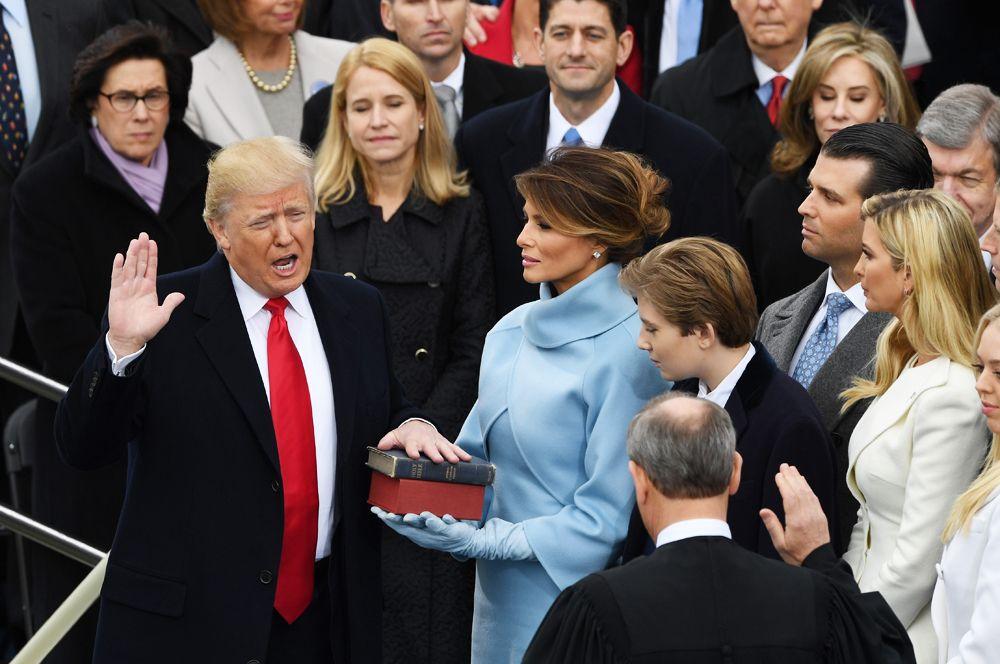 20 января 2017 года состоялась инаугурация Дональда Трампа в качестве 45-го Президента США.