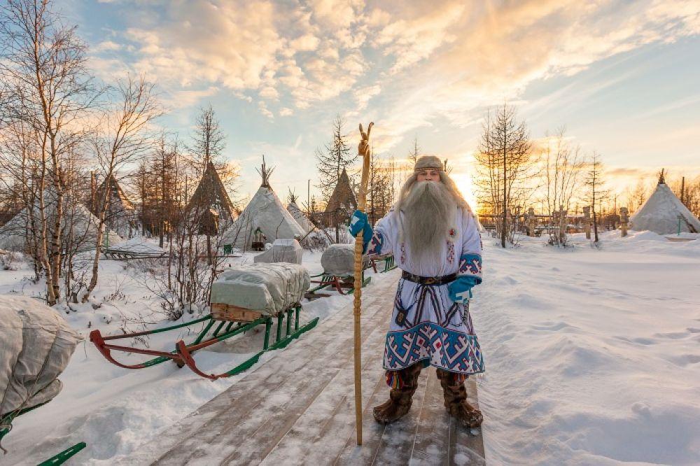 Ямальский Дед Мороз — Ямал Ири.