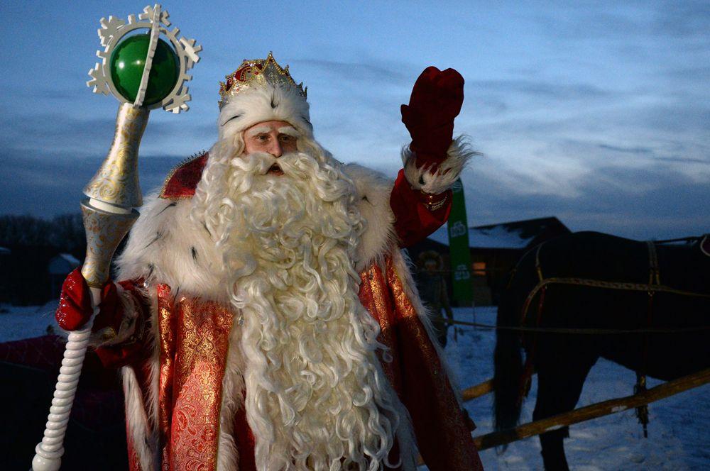 Российский Дед Мороз.