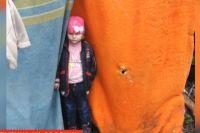 В Одессе на свалке нашли брошенную четырехлетнюю девочку