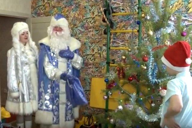 Дед Мороз исполнил мечты тюменских участников кремлевской «Елки желаний»