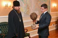 Губернатор Ямала обсудил этапы строительства храма в Салехарде
