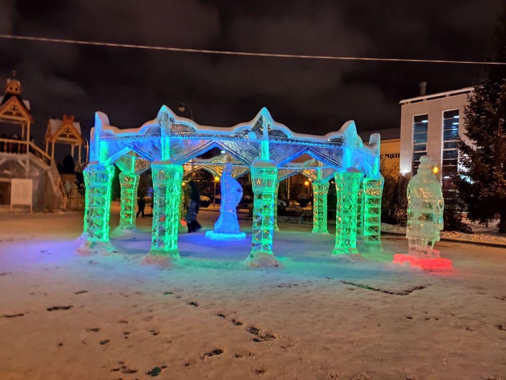 Ледовый городок, Тюмень.