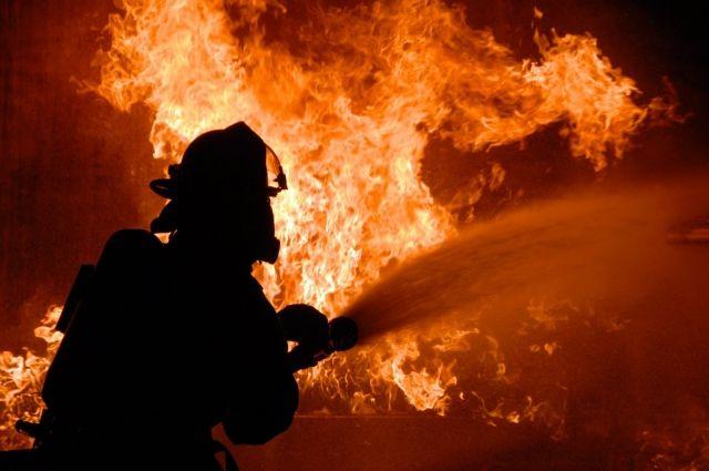 В запорожском жилом доме произошел пожар, двое погибших