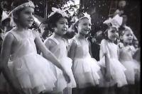На фото - СССР. Новый год в 40-50 годы.