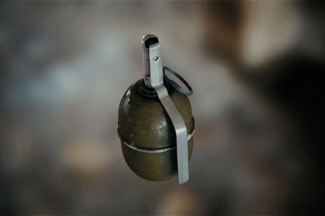 В Донецкой области злоумышленник бросил гранату во двор знакомых