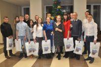 Торжественное мероприятие прошло в администрации Прокопьевского района накануне Нового года.