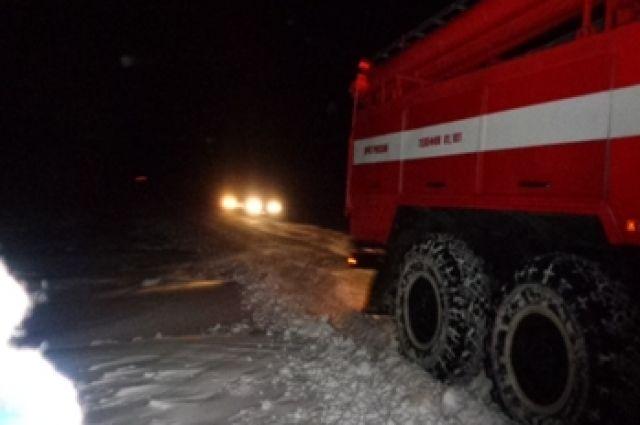 В п.Фадеевский Пономаревского района на пожаре погибла женщина.