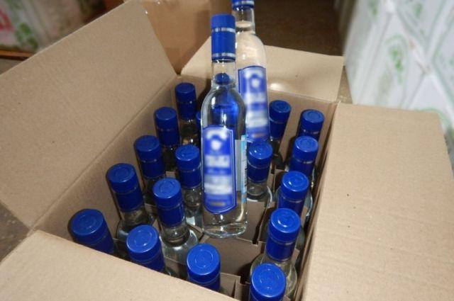 Стоимость изъятого поддельного алкоголя составила 2 млн рублей