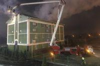 В столице произошел пожар в храме «Свидетелей Иеговы»: есть пострадавший