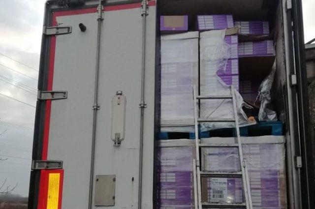 Из Украины в ЕС пытались вывезти сигарет на полмиллиона долларов