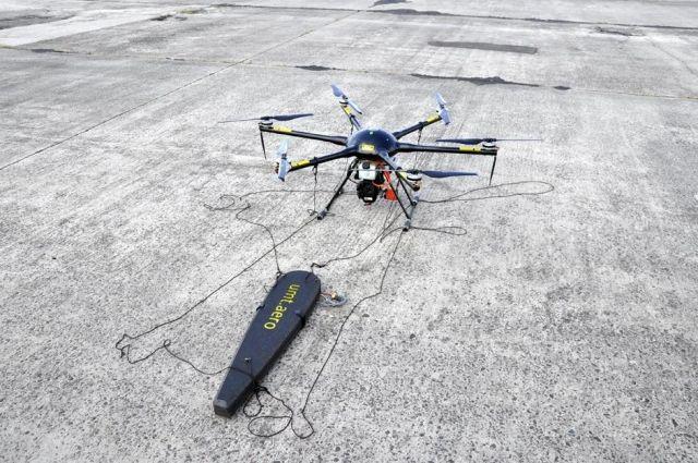 В Украине разработали дрон для поиска мин