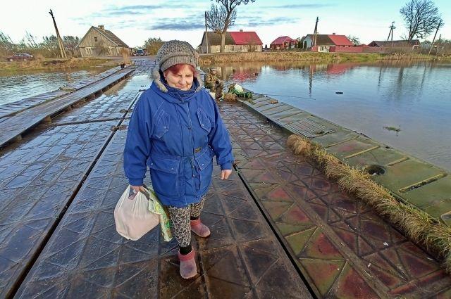 Надежда Ганичева: «Идёшь и боишься, что мост уйдёт под воду...».