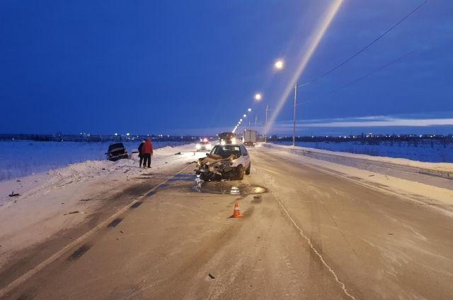 Восьмого января на дорогах Ямала произошло 11 ДТП