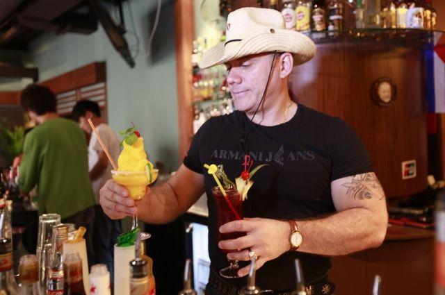 Коронный напиток Альберто - кубинский мохито
