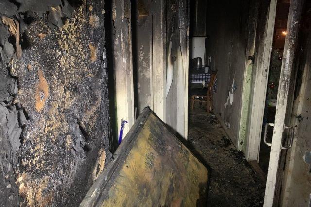 В Киеве произошел пожар в многоэтажке: что известно