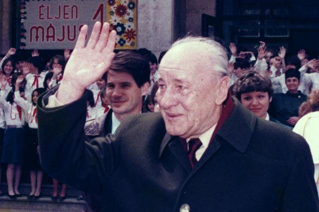 Генеральный секретарь ЦК ВСРП Янош Кадар.