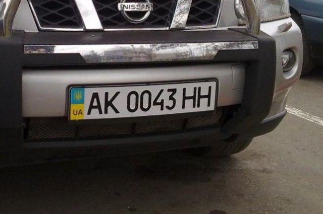У «ДНР» почали конфіскацію автомобілів з українськими номерами