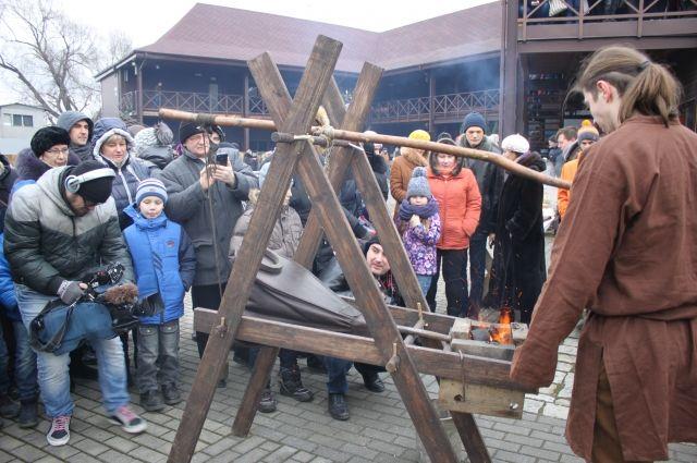 Во Фридрихсбургских воротах пройдёт праздник огня и ремёсел