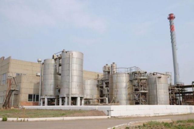 Имущество орского завода синтезспирта выставляют на торги.