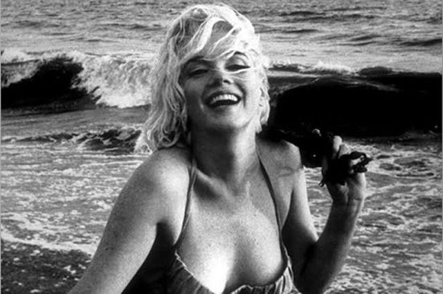 Мерлин Монро в 1962 году.