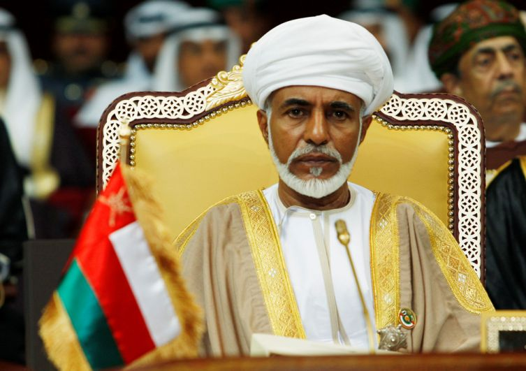 Султан Омана Кабус бен Саид в 2007 году.
